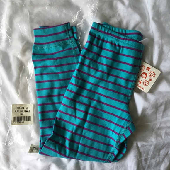 938bb8a62d4bd Hanna Andersson Bottoms | Nwt Blue And Purple Leggings | Poshmark
